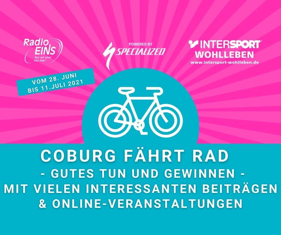 Coburg fährt Rad
