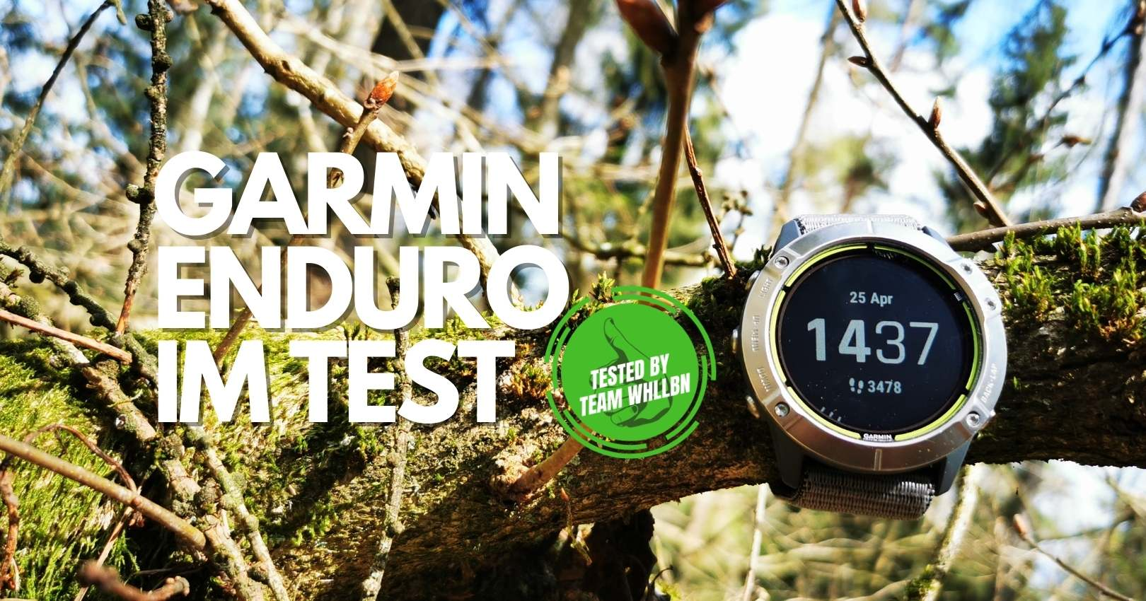 Garmin Enduro Multisportuhr im Test